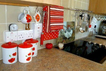 La céramique dans la cuisine